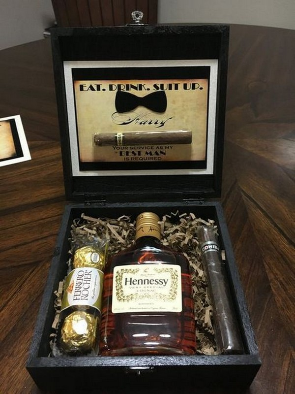 groomsmen proposal gift box ideas 2