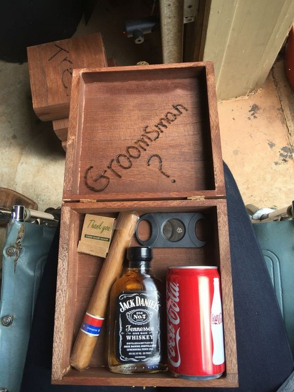 groomsmen proposal gift box ideas 2019
