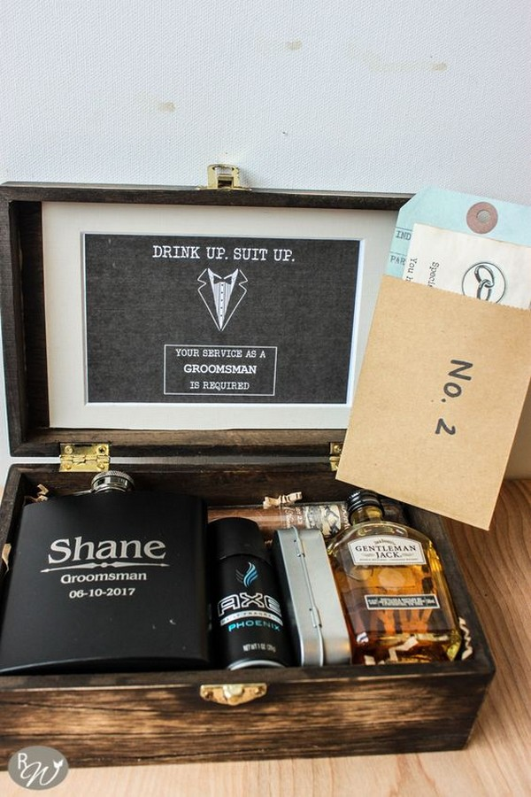 groomsmen proposal gift box ideas 3