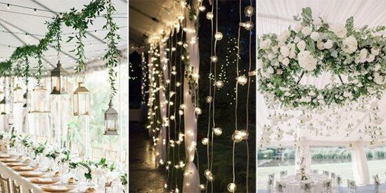 hanging wedding decorations