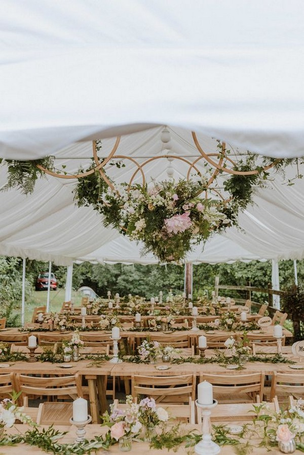 outdoor tent wedding reception decoration ideas