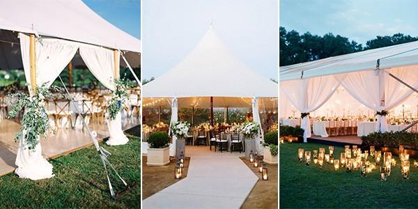 tented wedding ideas