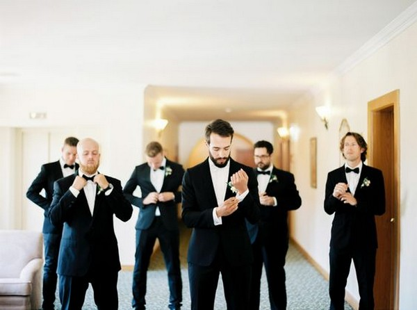 trending groomsmen getting ready photo ideas