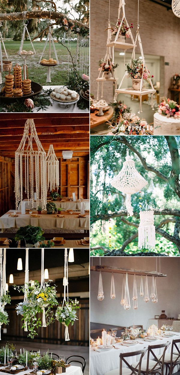 trending macrame wedding decoration ideas for 2019
