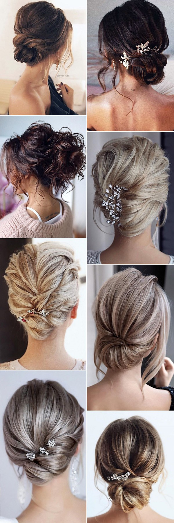 updo wedding hairstles for medium length hair