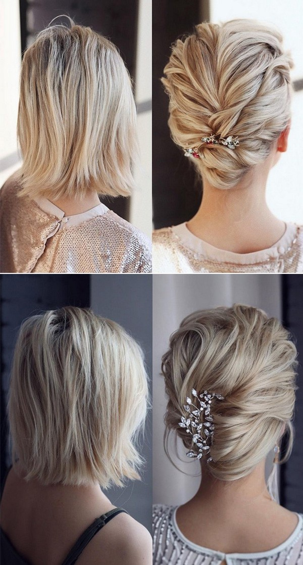 20 Medium Length Wedding Hairstyles For 2019 Brides