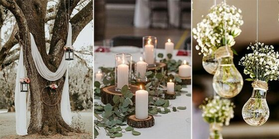 budget friendly wedding decoration ideas