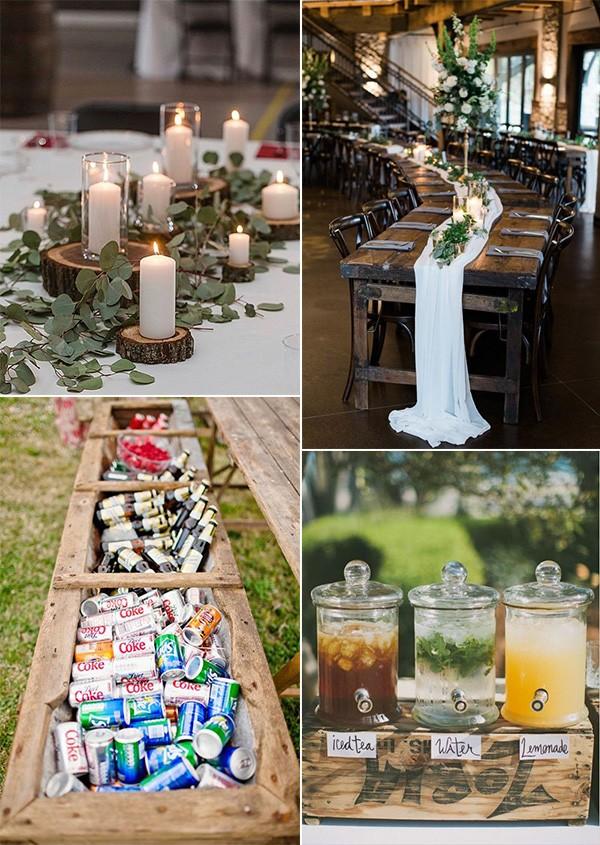 budget friendly wedding reception ideas
