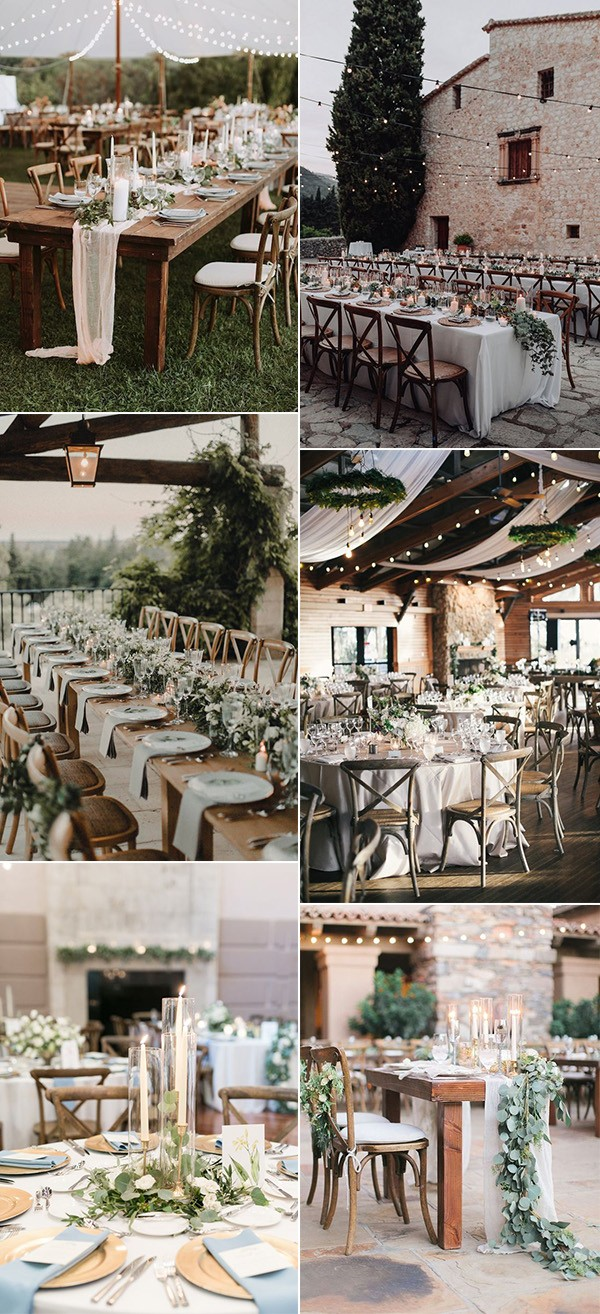 chic and elegant wedding reception ideas