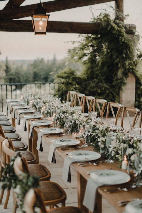 chic elegant wedding reception decoration ideas
