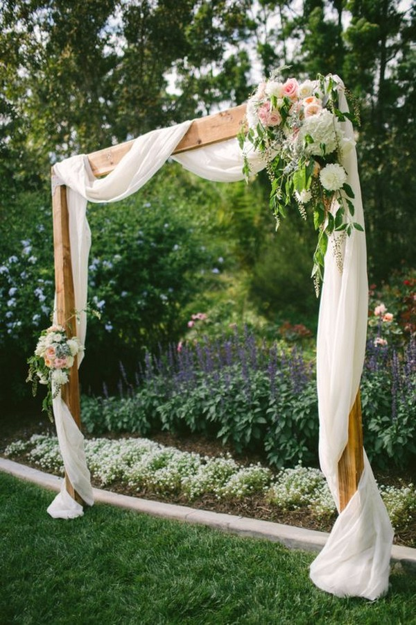 simple wedding arch decoration ideas on a budget