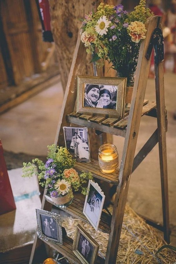 vintage rustic wedding decoration ideas on a budget