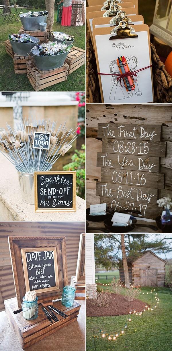 backyard wedding ideas on a budget - EmmaLovesWeddings