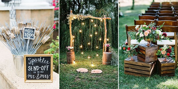 15 Creative Backyard Wedding Ideas On a Budget ...
