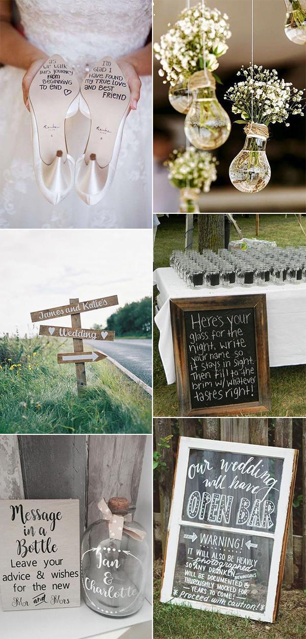 budget friendly diy wedding ideas