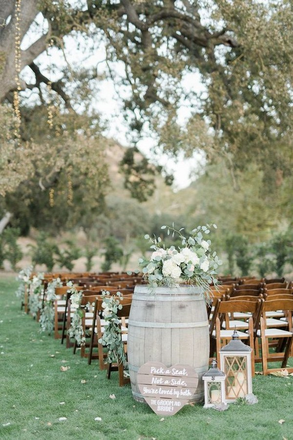 Country Wedding Ideas 26 Great Ways To Use Wine Barrels