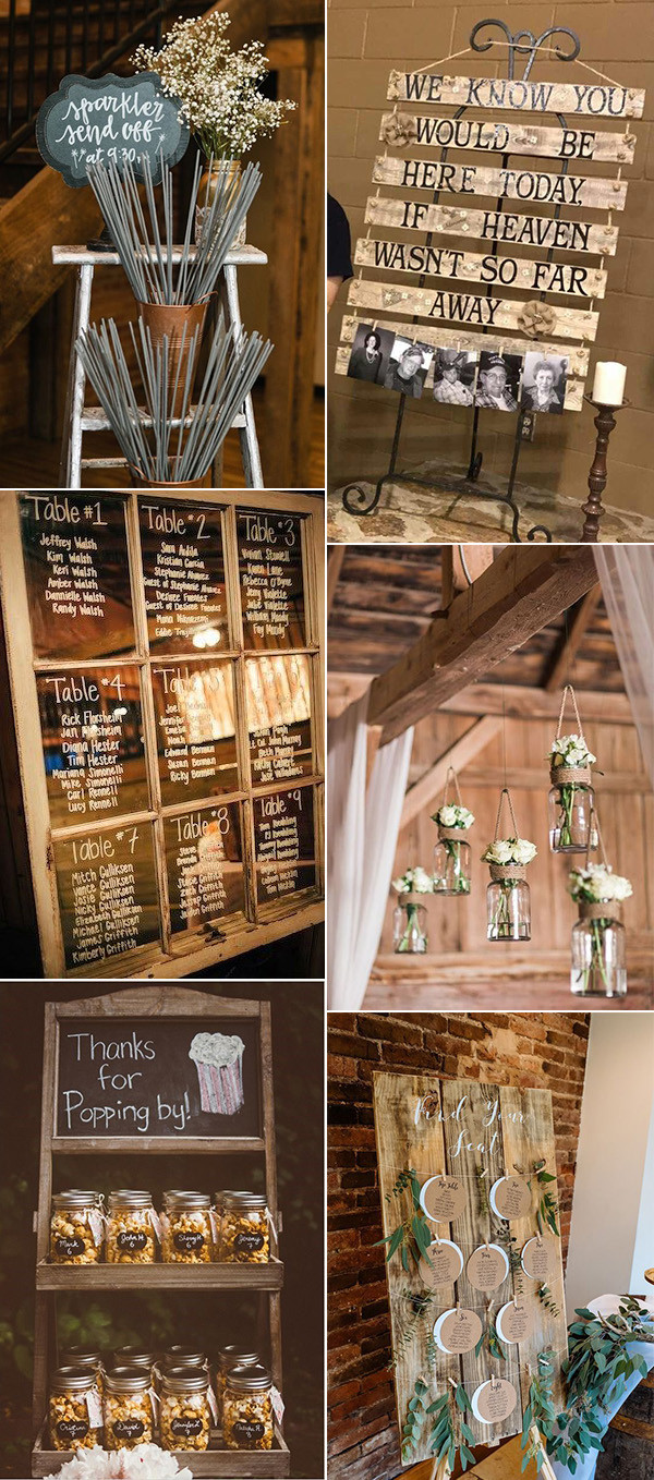 rustic DIY wedding ideas on a budget