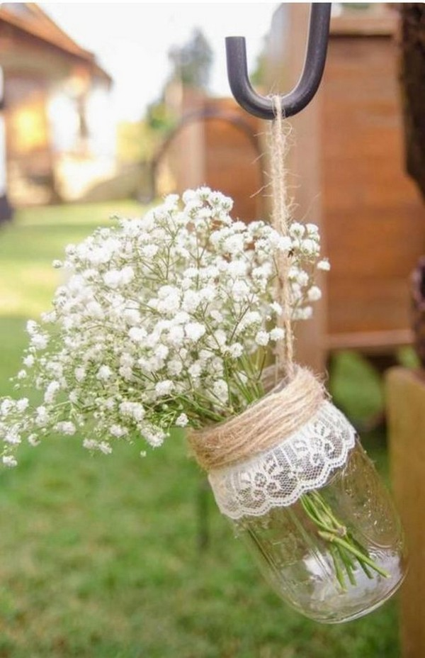rustic outdoor wedding chair decoration ideas