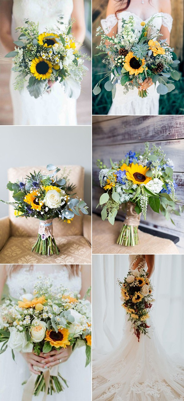 35 Pretty And Bright Sunflower Wedding Ideas Emmalovesweddings