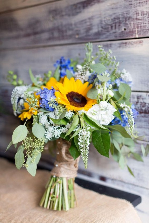 35 Pretty And Bright Sunflower Wedding Ideas