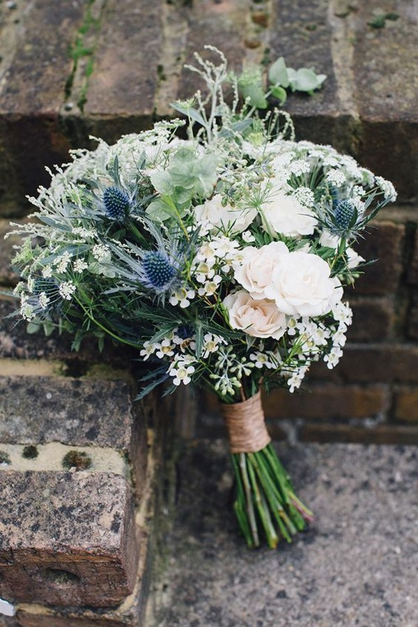 wildflower rustic wedding bouquets