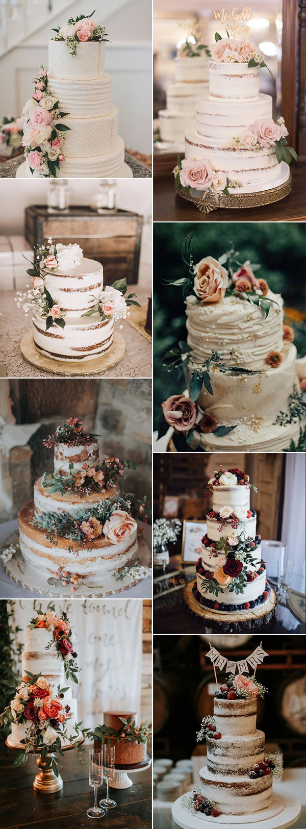 delicious vintage wedding cakes