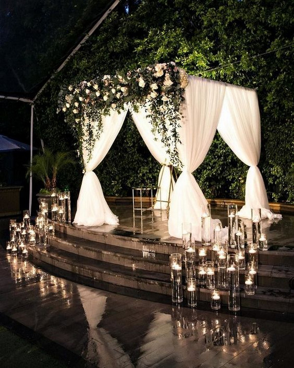 20 Timeless Indoor Wedding Ceremony Decoration Ideas