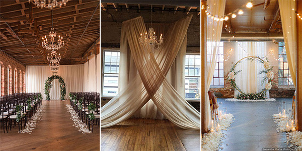 indoor wedding ceremony ideas