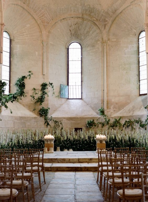 timeless chapel wedding ceremony ideas