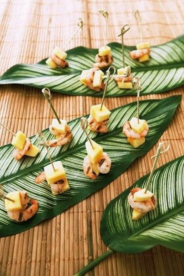 Delicious Tropical Wedding Food Ideas