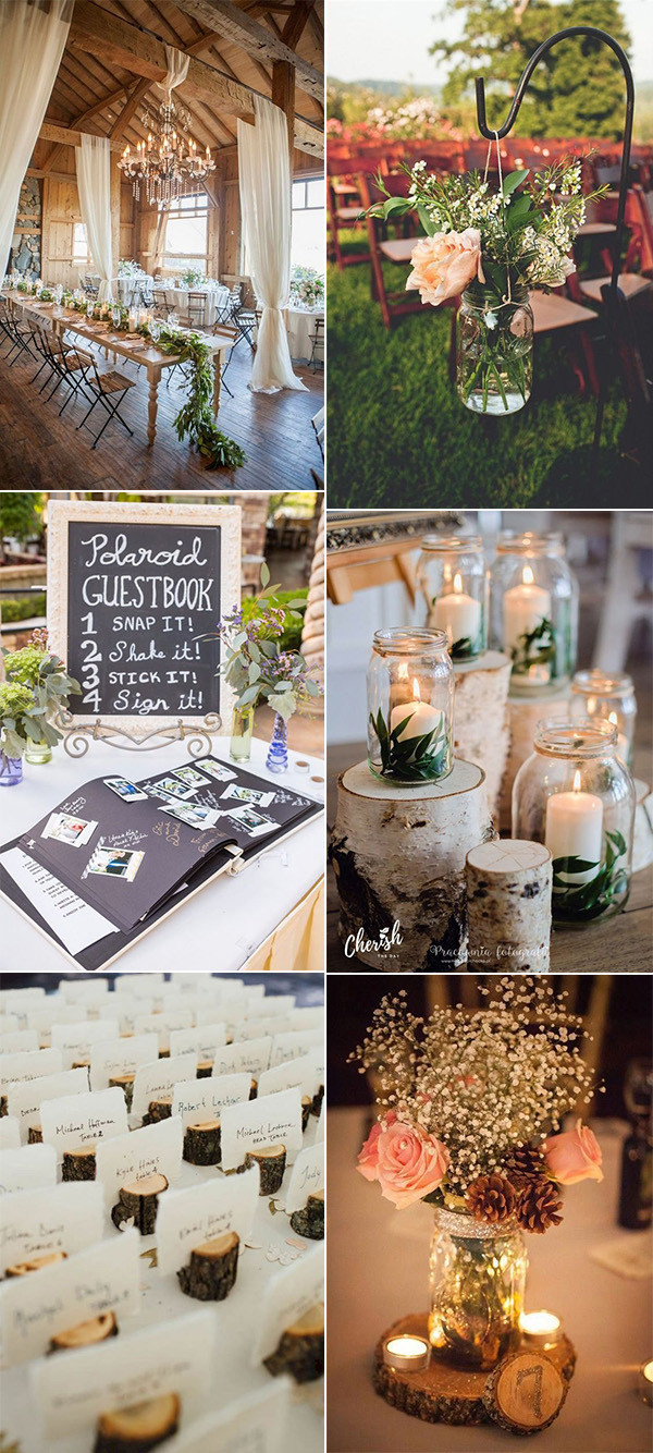 budget friendly country rustic wedding ideas