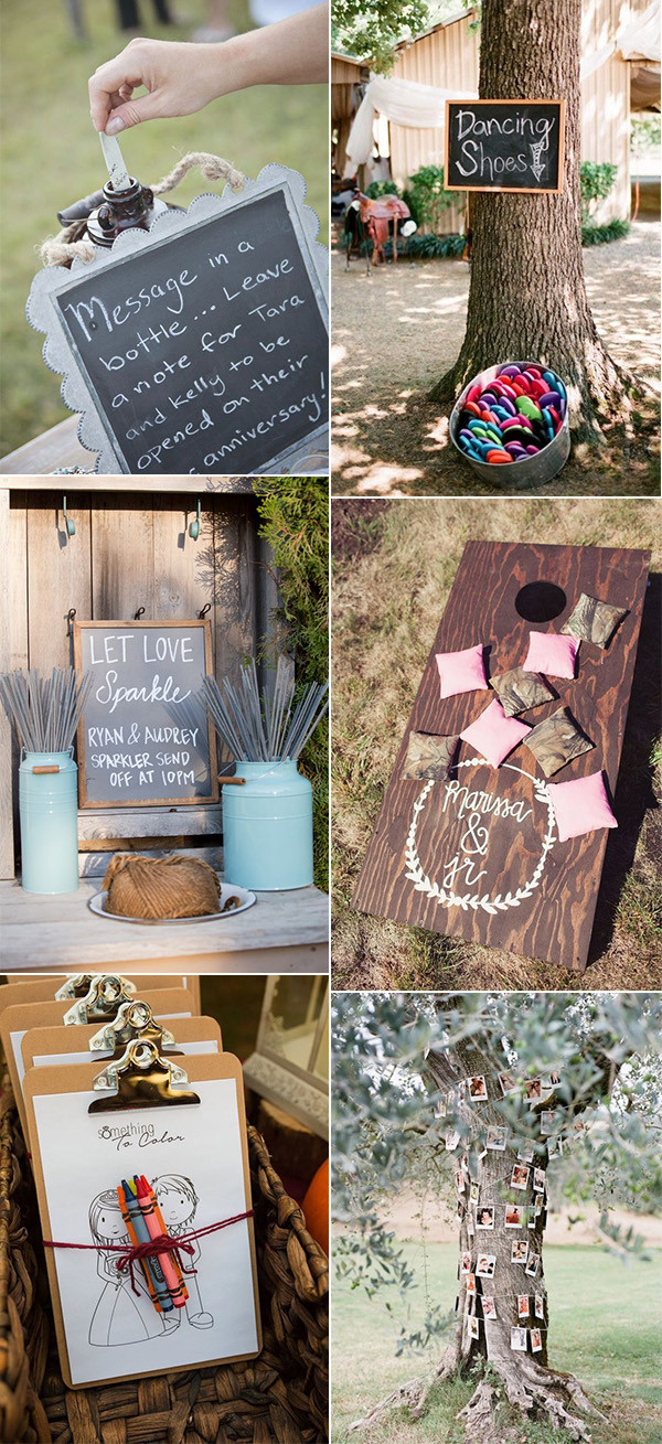 country rustic wedding ideas on a budget
