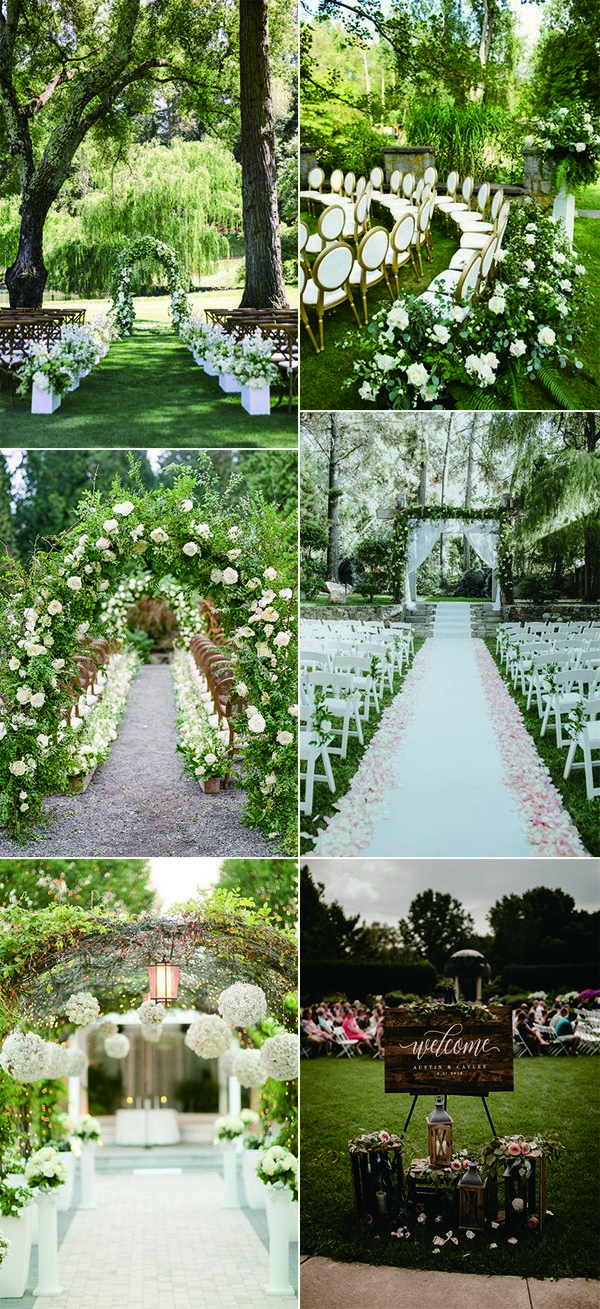 garden wedding ceremony decoration ideas for 2020