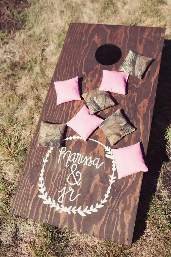 outdoor country wedding game ideas