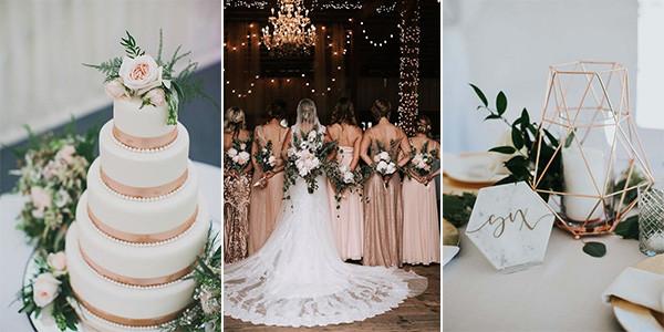 18 Gorgeous Rose Gold Wedding Ideas For 2020 Emmalovesweddings