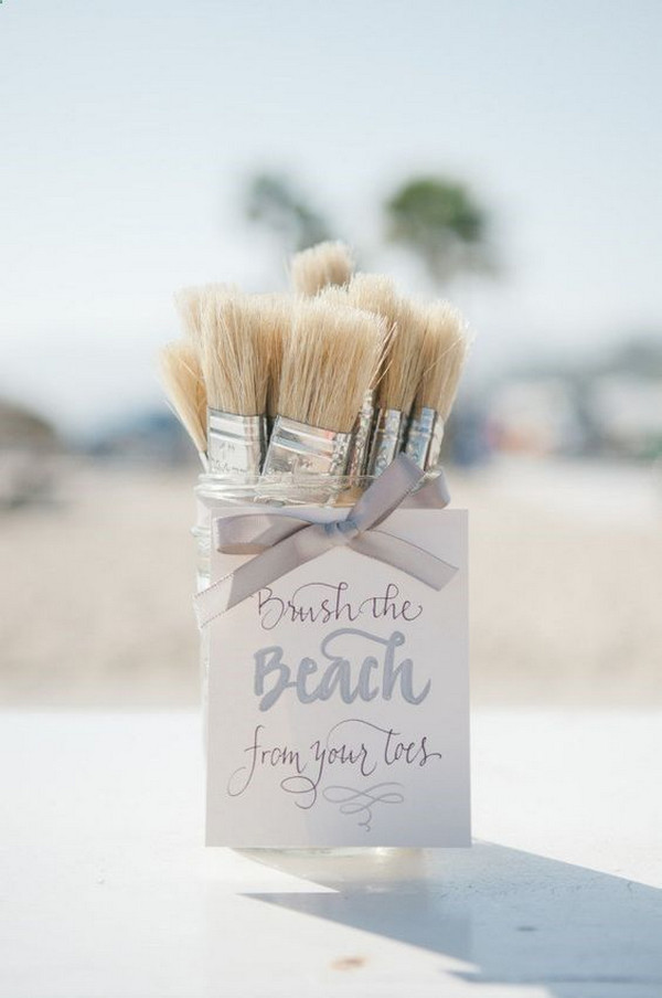 sweet beach wedding ideas