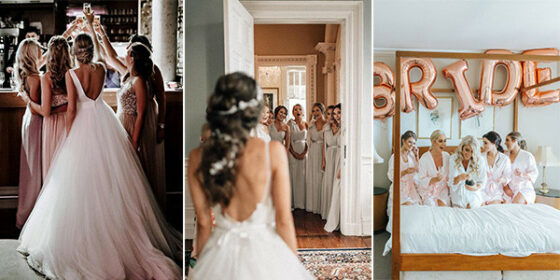 wedding photo ideas bridesmaids
