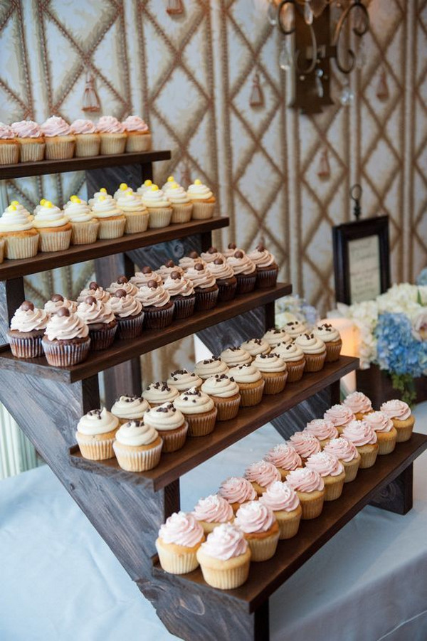 country wedding dessert display ideas