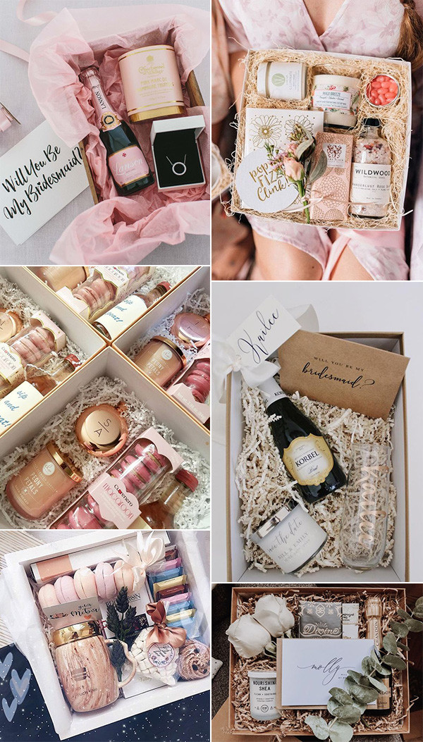wedding bridesmaid proposal gift idesa for 2020