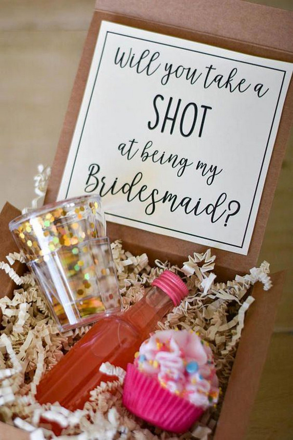 will you be my bridesmaid gift box ideas 2
