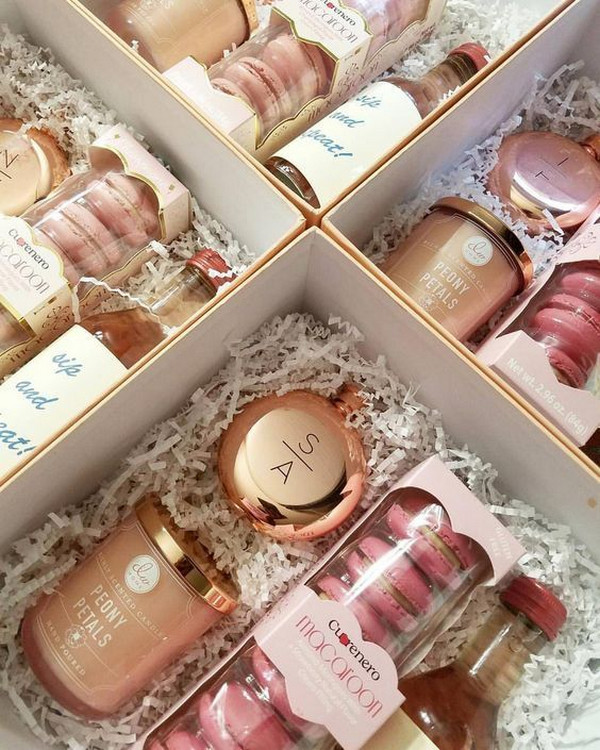 will you be my bridesmaid proposal gift box ideas 2