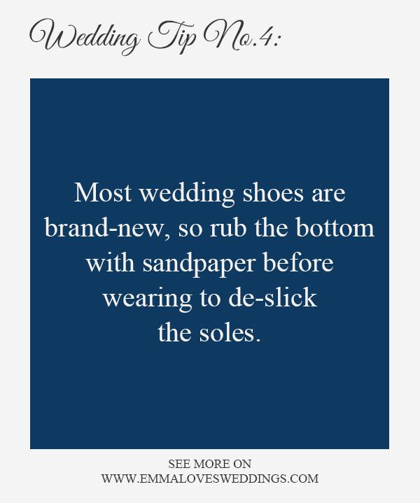 wedding planning tips and tricks 4-shoes