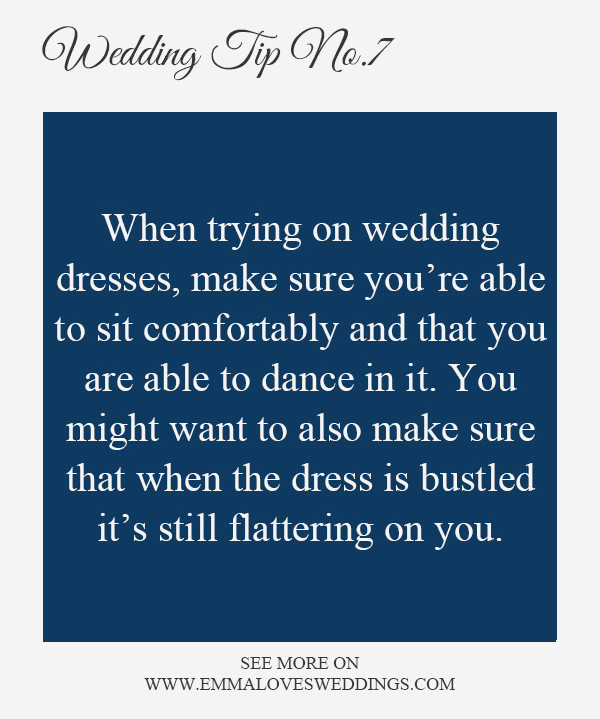 wedding planning tips and tricks 7-wedding dress