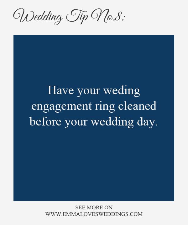 wedding planning tips and tricks 8-wedding ring