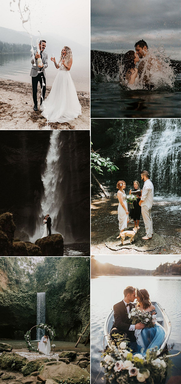 2020 trending elopement wedding venue ideas