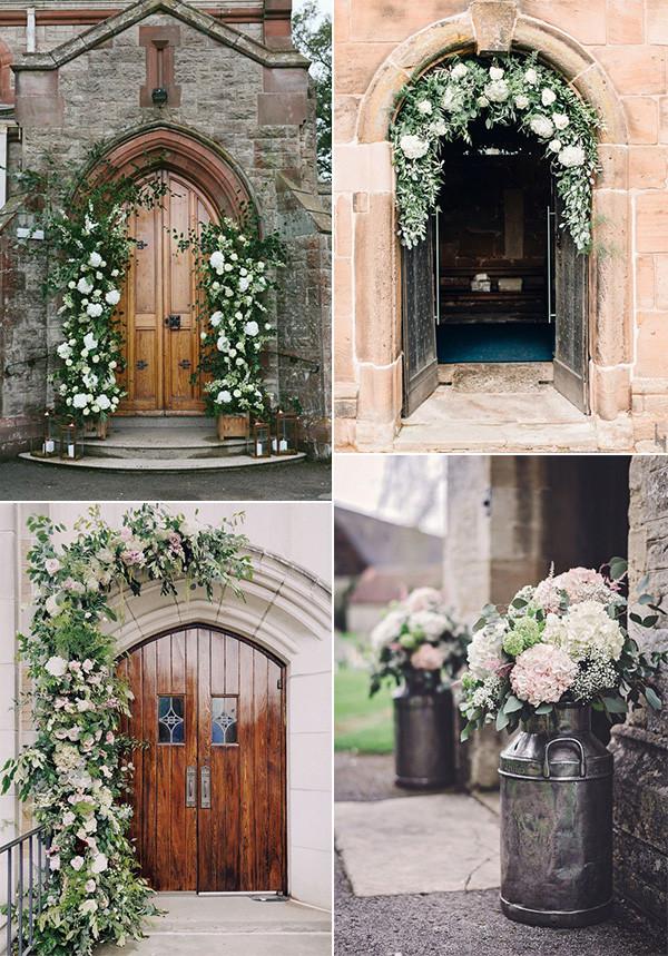 church wedding entrance decoration ideas for 2020