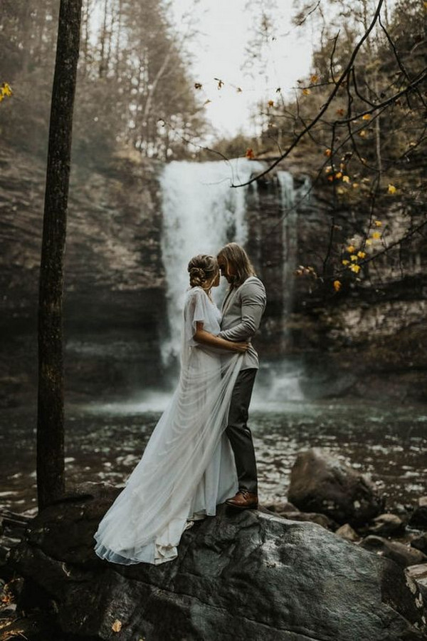 fall elopement wedding ideas for 2020