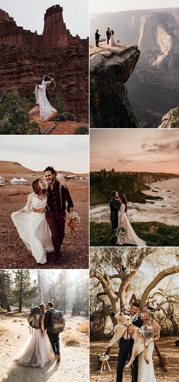 trending elopement wedding ideas for 2020