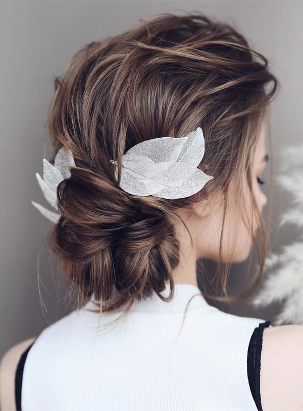 elegant updo wedding hairstyles for 2020 brides 10