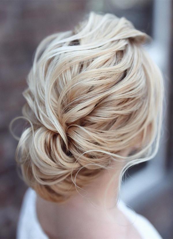 elegant updo wedding hairstyles for 2020 brides 12
